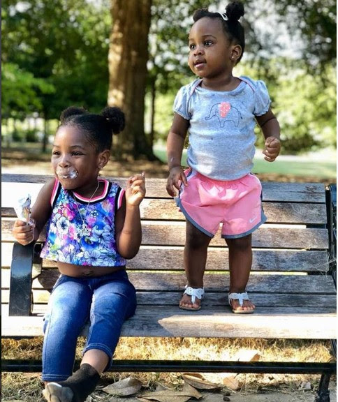 'Nah Una Go Finish My Money' – Davido Says As He Shares Photos Of His Daughters