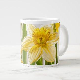 Yellow Spring Daffodils Jumbo Mug