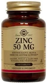 Zinc mg solgar