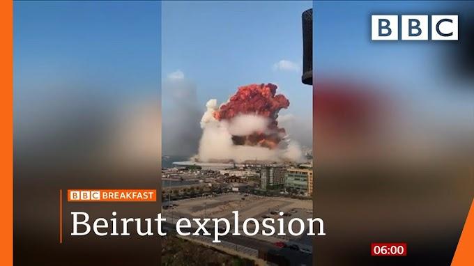 BREAKING: Huge Blast Rocks Beirut - Over 100 reported missing.