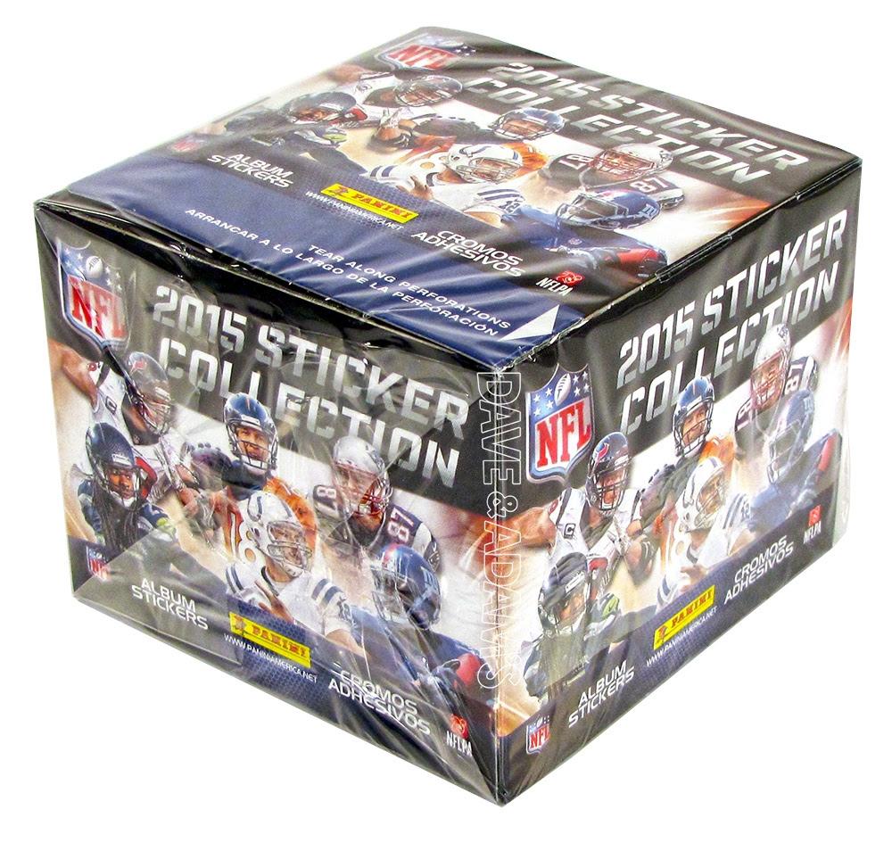2015 Panini NFL Football Sticker Box  Album  DA Card World