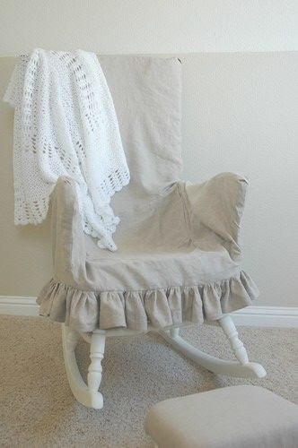 Upholstering a rocking chair