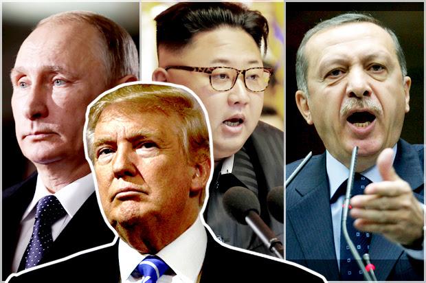 Image result for trump's despots