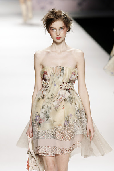 Floral dress by  Kenzo Spring-Summer 2009