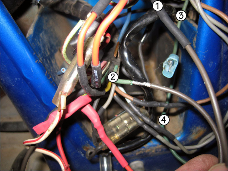 Time To Update The Cl70 Electrical Harness Fourwheelforum