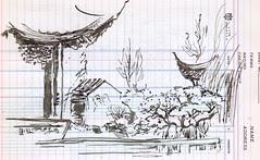 SketchCrawl - Old Town - Chinese Garden