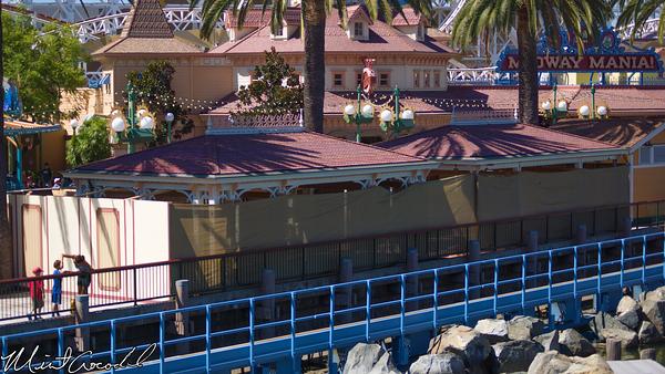 Disneyland Resort, Disney California Adventure, Toy Story Midway Mania, Queue, Structure, Refurbishment, Refurb, Refurbish
