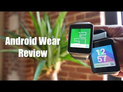Android Wear Review! (Samsung Gear Live and LG G Watch)