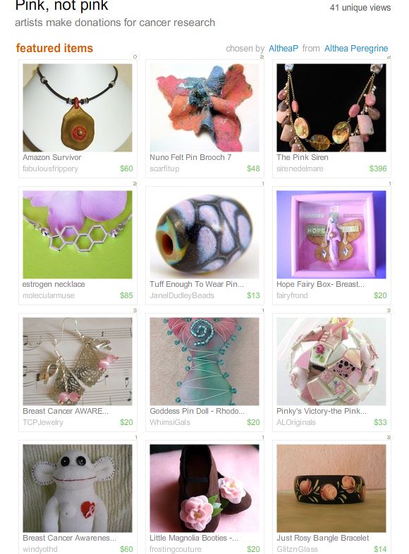 Pink, not Pink Treasury by AltheaP