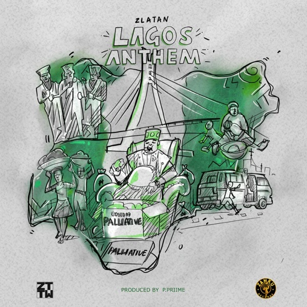 [Music] Zlatan – Lagos Anthem (Money No Dey Lagos)