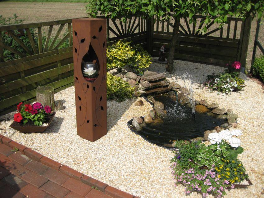 Garden gartendeko for Gartendeko rost gartendekorationen