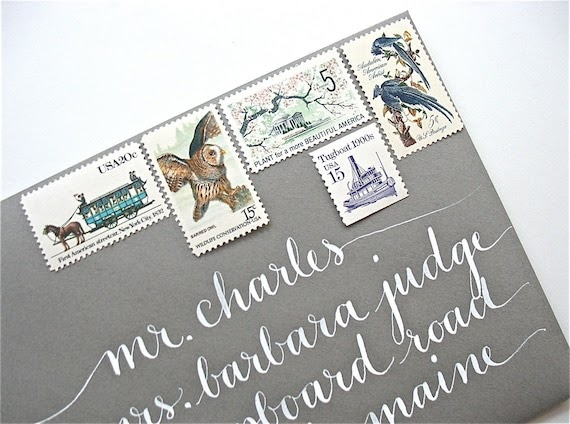 Wedding Invite Stamp: Stationery And Invitations: Where To