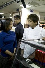 Susumu Koyama, Parissier es Koyama, Salon du Chocolat Tokyo 2010, Shinjuku Isetan