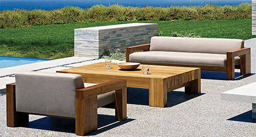 Outdoor. solid Solid Teak Wood Outdoor Furniture by Marmol Radziner for  Danao Outdoor - Solid Wood Outdoor Furniture At The Galleria