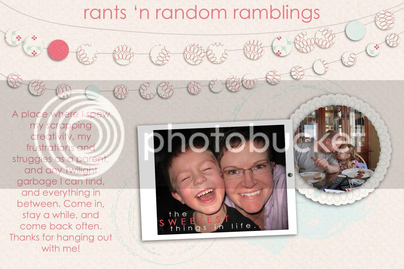 Rants 'N Random Ramblings