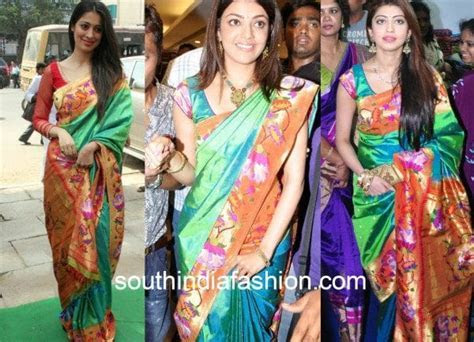Gorgeous Designs And Patterns of Paithani Silk Sarees!