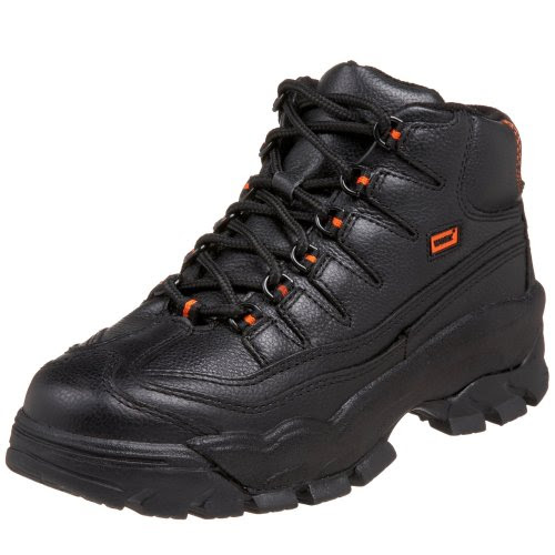 WORX by Red Wing Shoes Men's 5501 Steel Toe Athletic Work Mid,Black,8.5 W