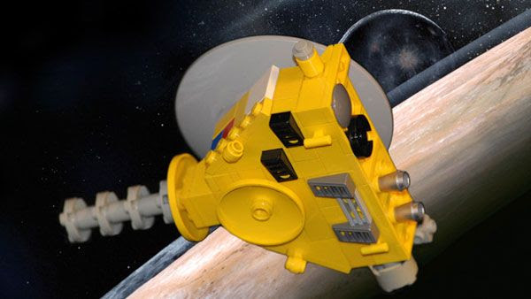 A New Horizons LEGO® toy.
