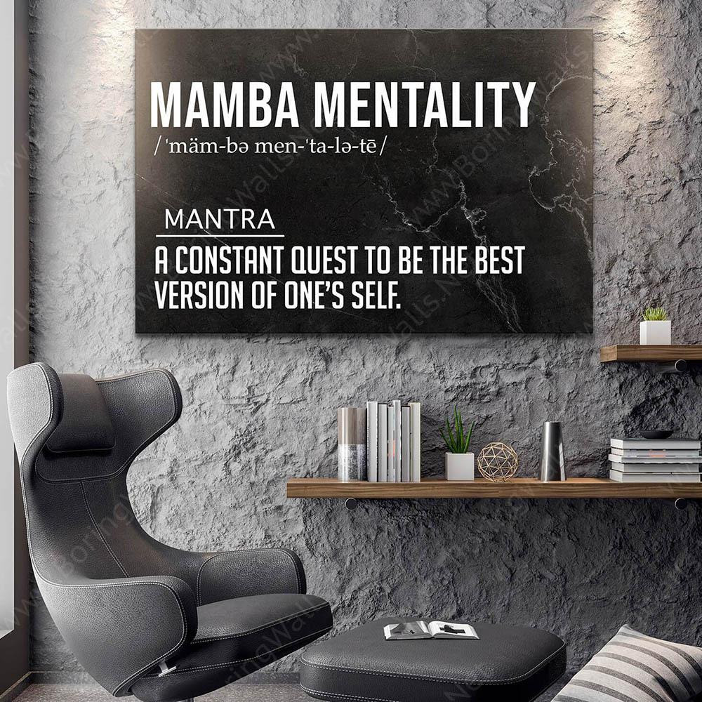 Mamba Mentality Definition Mamba Mentality Quote By Kobe Bryant Boringwalls