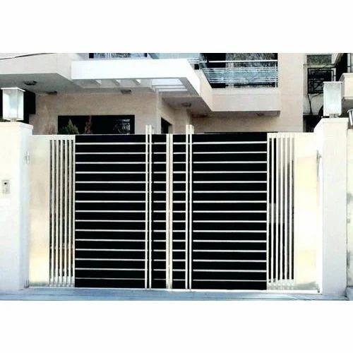 Ss Main Gate Modern House Main Gate Manufacturer From Faridabad