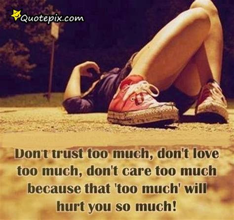 Dont Care Too Much Quotes