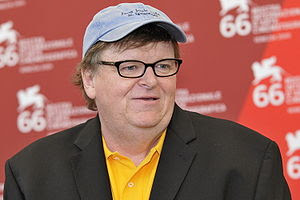 Michael Moore at the 66th Venice International...