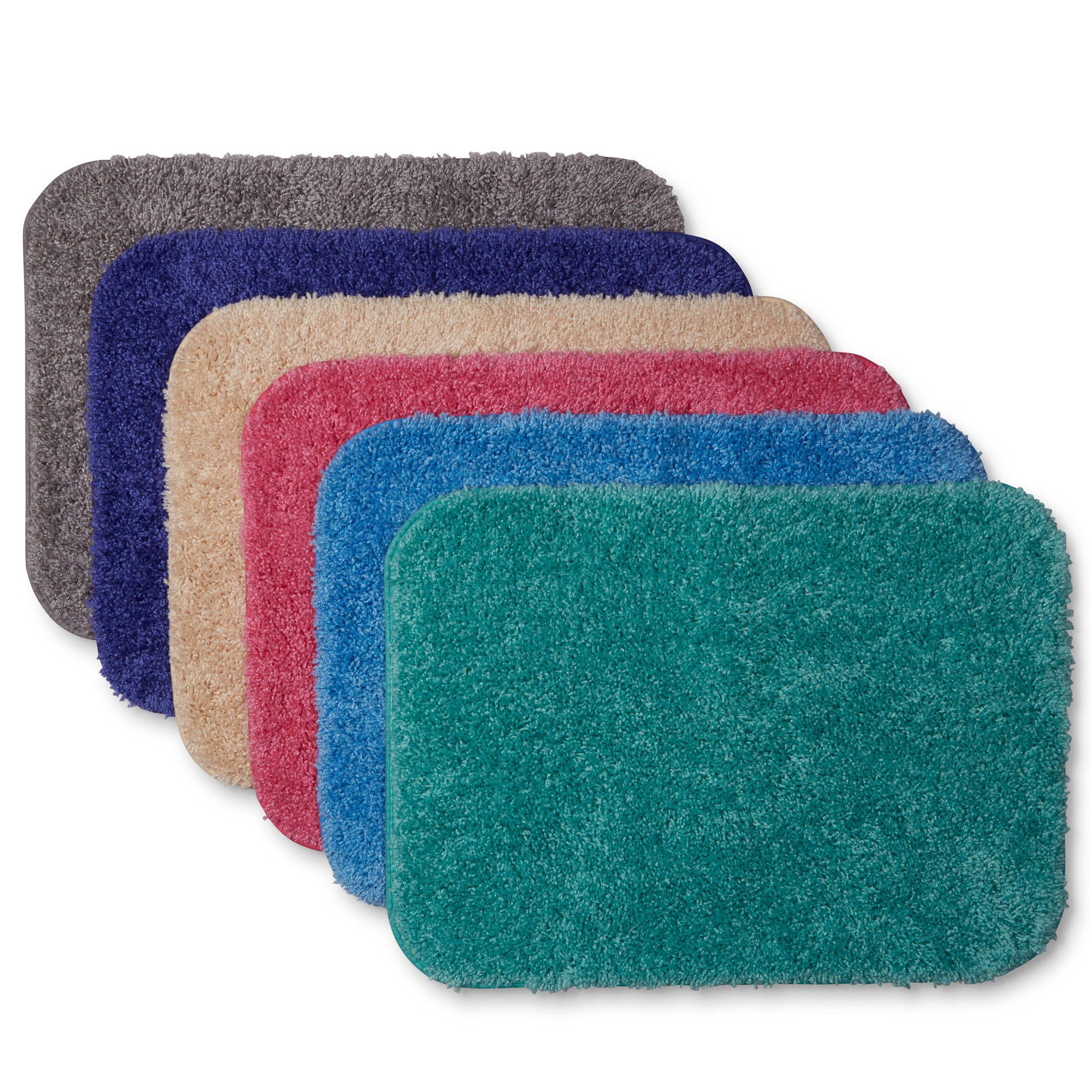 Essential Home Sutton Bath Rug, Universal Lid, or Contour ...