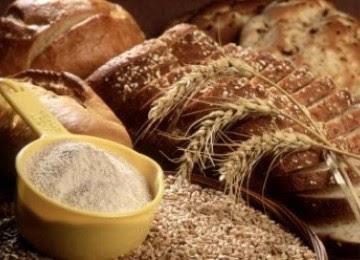 Makanan berbahan gandum dengan serat tinggi