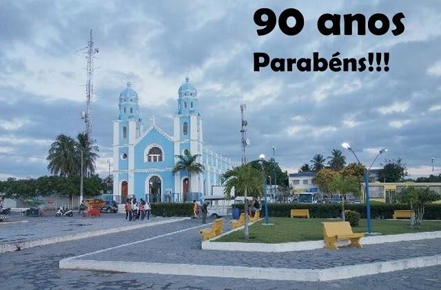 PARABÉNS JOÃO CÂMARA PELOS 90 ANOS DE EMANCIPAÇÃO POLITICA.