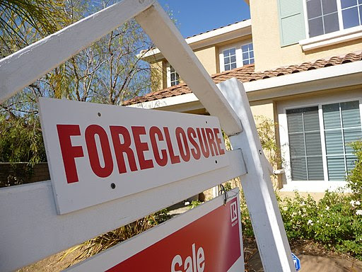 Sign of the Times-Foreclosure