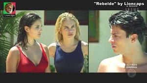 Varias Beldaes da novela Rebelde