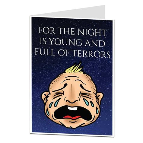 The Night Is Young New Baby Card   LimaLima Trade