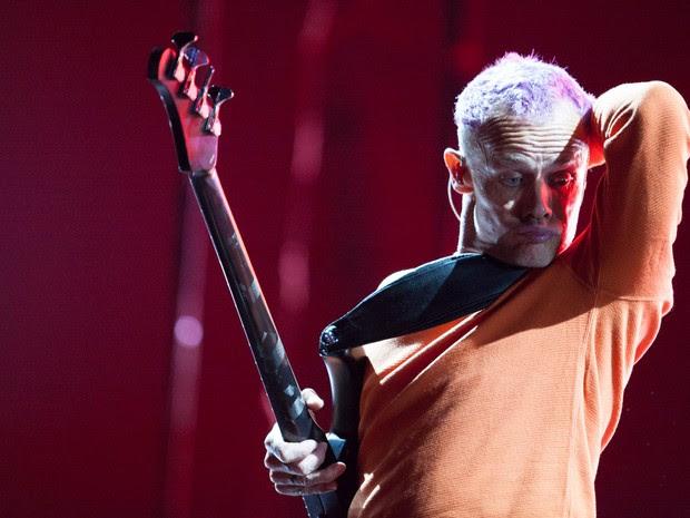 7 de novembro - Red Hot Chilli Peppers em SP. (Foto: Fábio Tito/G1)
