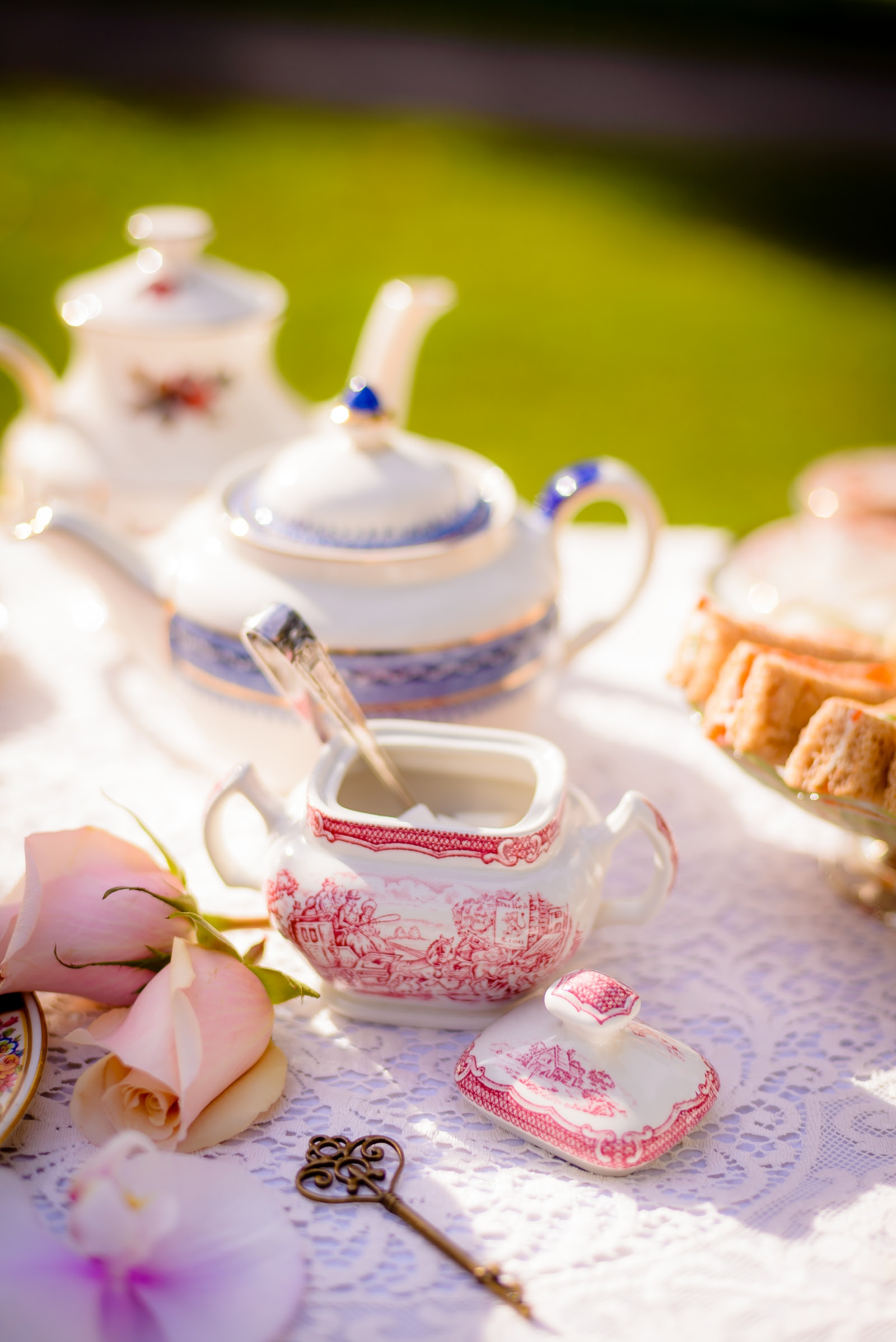 A Series Of Tea Rrific Tea Party Ideas Tea Party Table Setting 101