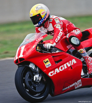 Cagiva 500cc motorcycle GP racing