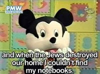 Click to see the Hamas Mouse on Palestinian TV