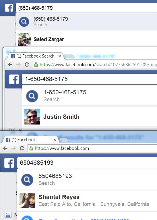 Verify Mobile Numbers Using Facebook | Boolean Strings
