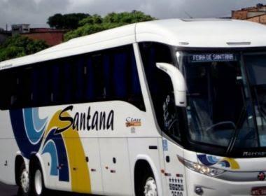 Feira: Assaltantes roubam passageiros de ônibus e obrigam motorista a tirar roupa