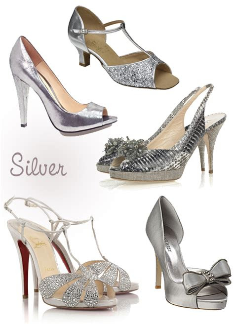 sparkly bridal shoes gold  silver wedding shoes