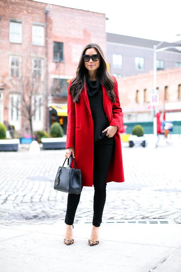 Classic Red Coat.
