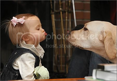 Girl and Dog Pictures, Images and Photos
