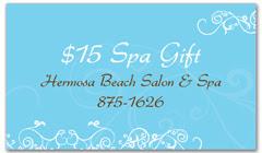 CPS-1065 - salon coupon card