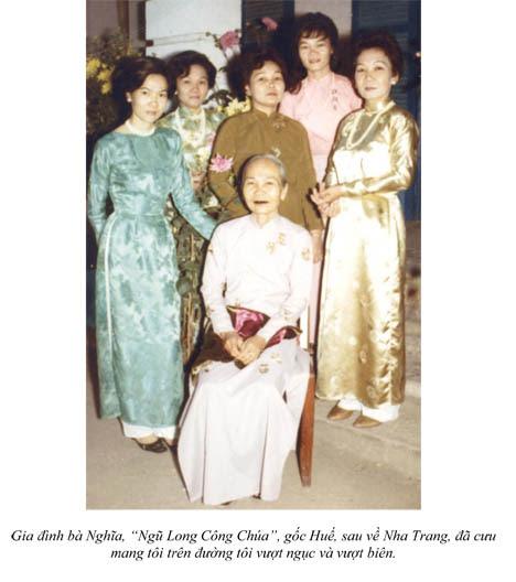 Nguyễn Hữu Chí: gia đình bà Nghĩa