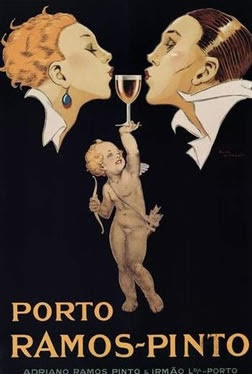 Art Deco - Port wine Poster (Portugal)