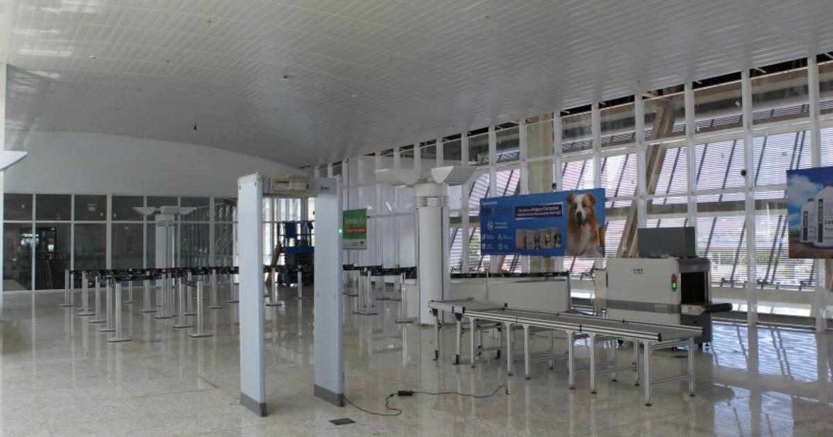 Infraero concluí parcialmente obra em setor do aeroporto Marechal Rondon