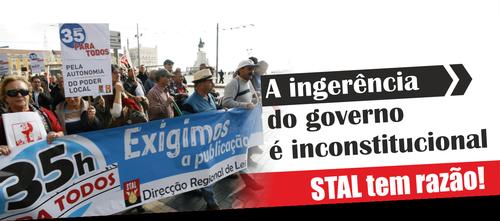 Manifestação STAL 2015