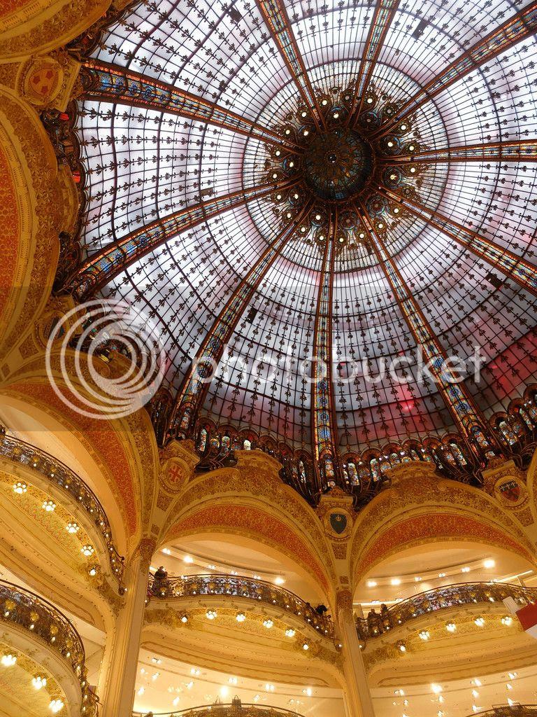 modestmixblog Galeries Lafayette Haussmann Paris