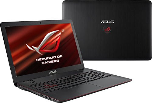 ASUS G551JX-DMO36H 15.6-inch ROG-Series Touchscreen Gaming Laptop (Core i7-4720HQ/16GB/1TB/Win 8.1/2GB Graphics), Black