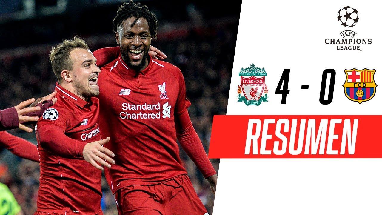 Dentro de Anfield: Liverpool 4-0 Barcelona | LA MEJOR VUELTA DE ANFIELD - Liverpool