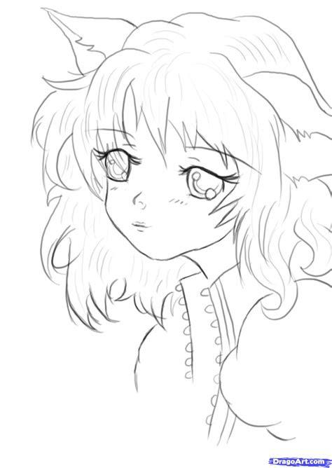 draw  cute anime face step  step anime people
